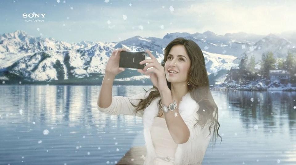 Sony / Every Little Thing Matters - Director Kobayashi - Sony Xperia Z1 - Katrina Kaif - Still 03