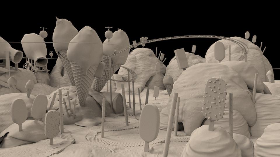 Napoca / Ice Cream Factory - VFX 002 - Ice Cream Factory - Napoca - Director Kobayashi