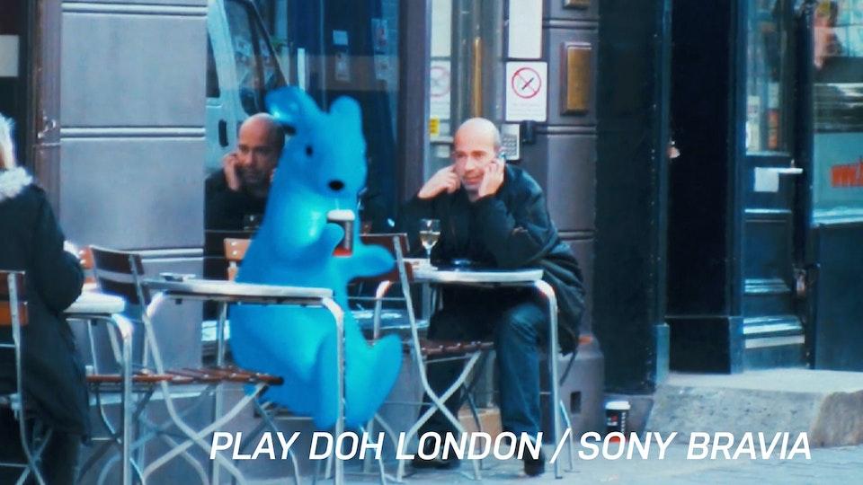 Sony Bravia / Play Doh London