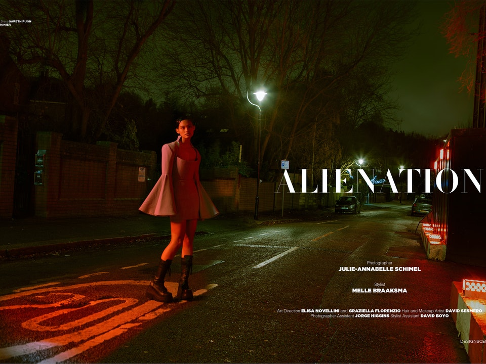 Alienation - Design Scene Print Issue