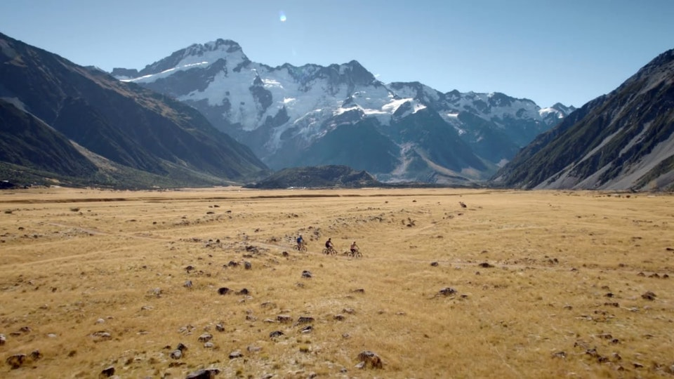Tourism New Zealand Cycling - Alps To Ocean