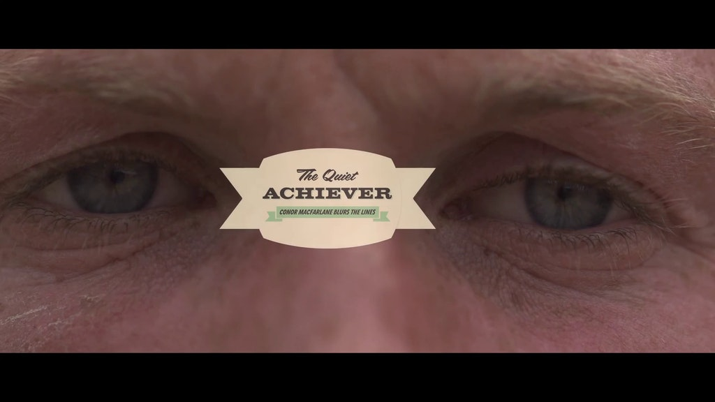 The Quiet Achiever - Conor Macfarlane