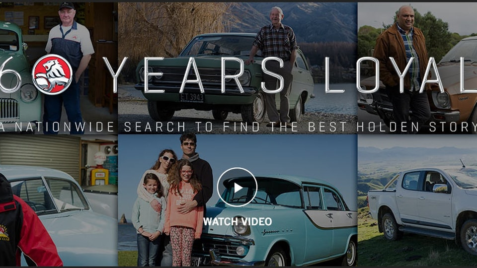 Holden 60 Years Loyal | Highlights film