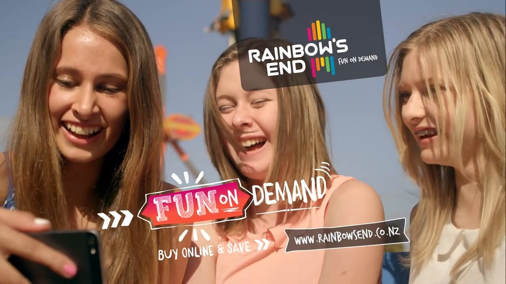 Rainbows End Fun On Demand TVC 30'
