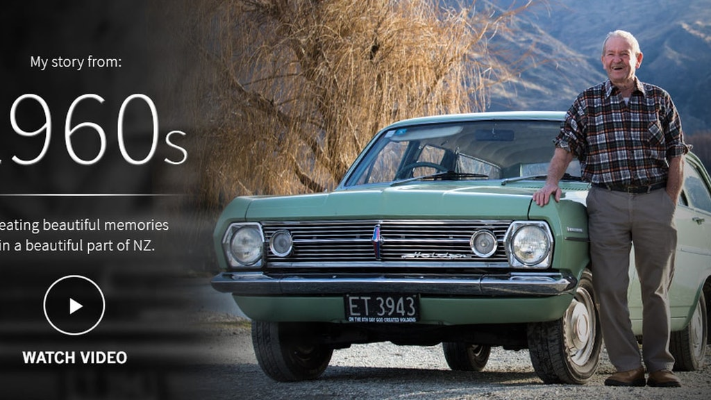 Holden 60 Years Loyal Campaign | 1960s | Creating Beautiful Memories