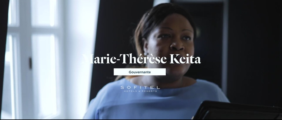 Accor Luxe   Digital Content - ACCOR LUXE CARRIERE - Marie Thérèse Keita