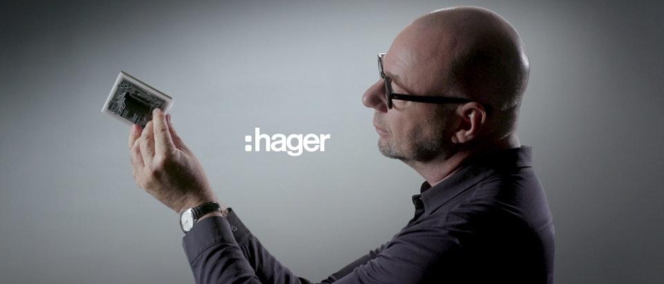 SLEAK - Gallery, le design de HAGER