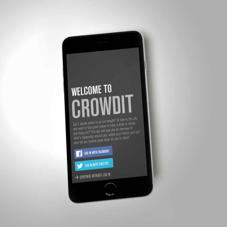 Toke Kristensen - Crowdit App