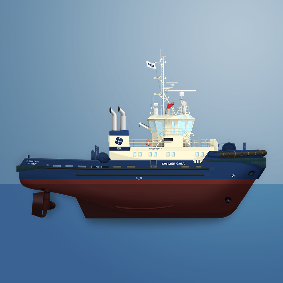 Toke Kristensen - Ship illustrations