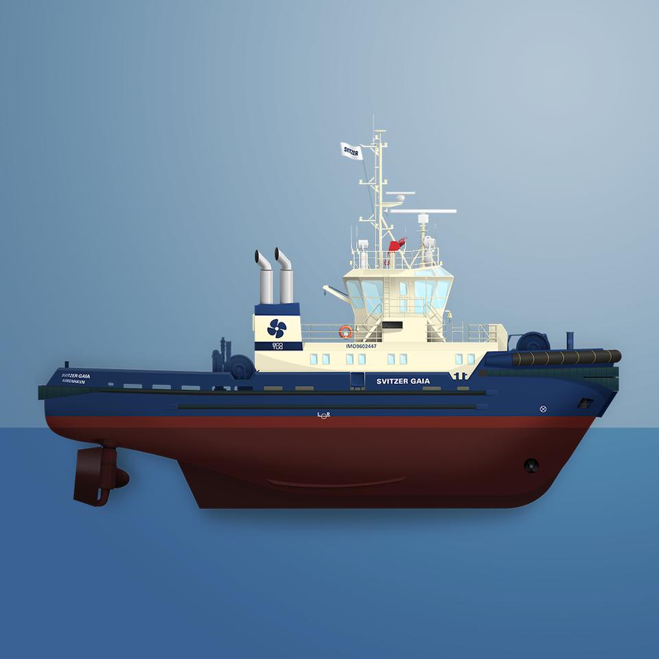 Toke Kristensen - Ship illustrations