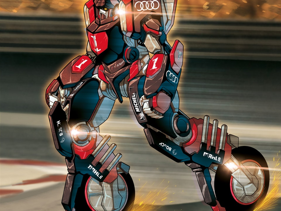 ROBOT MADNESS - ROADBREAKER3