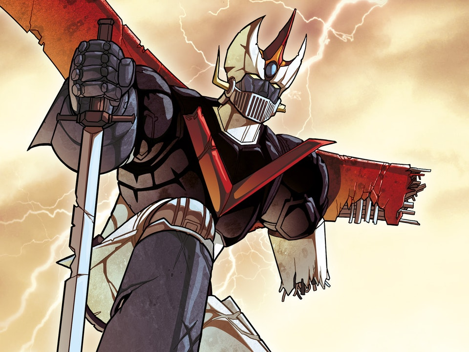 ROBOT MADNESS - GREAT MAZINGER RUINED