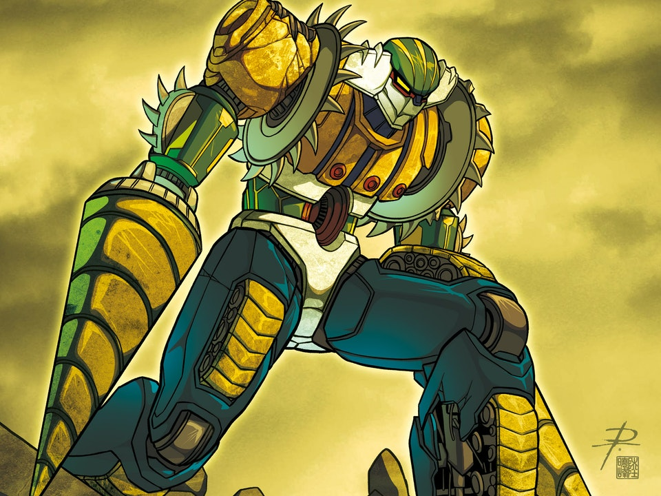 ROBOT MADNESS - JEEG RUINED