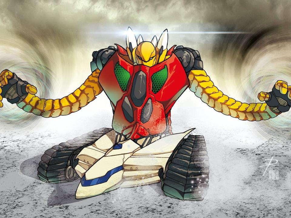 ROBOT MADNESS - GETTER 3
