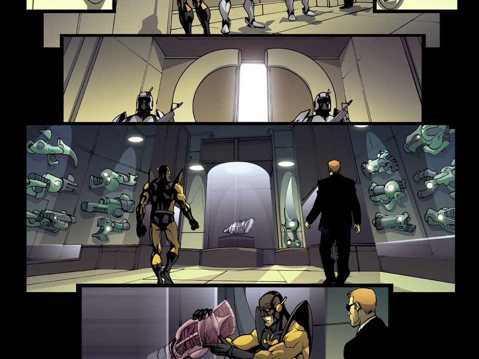 MARVEL'S THE INITIATIVE