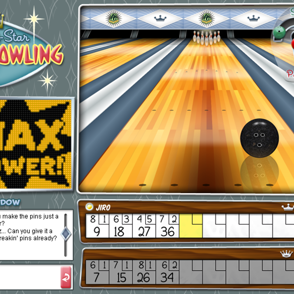 UI and Graphic Design AllStarBowlingComp