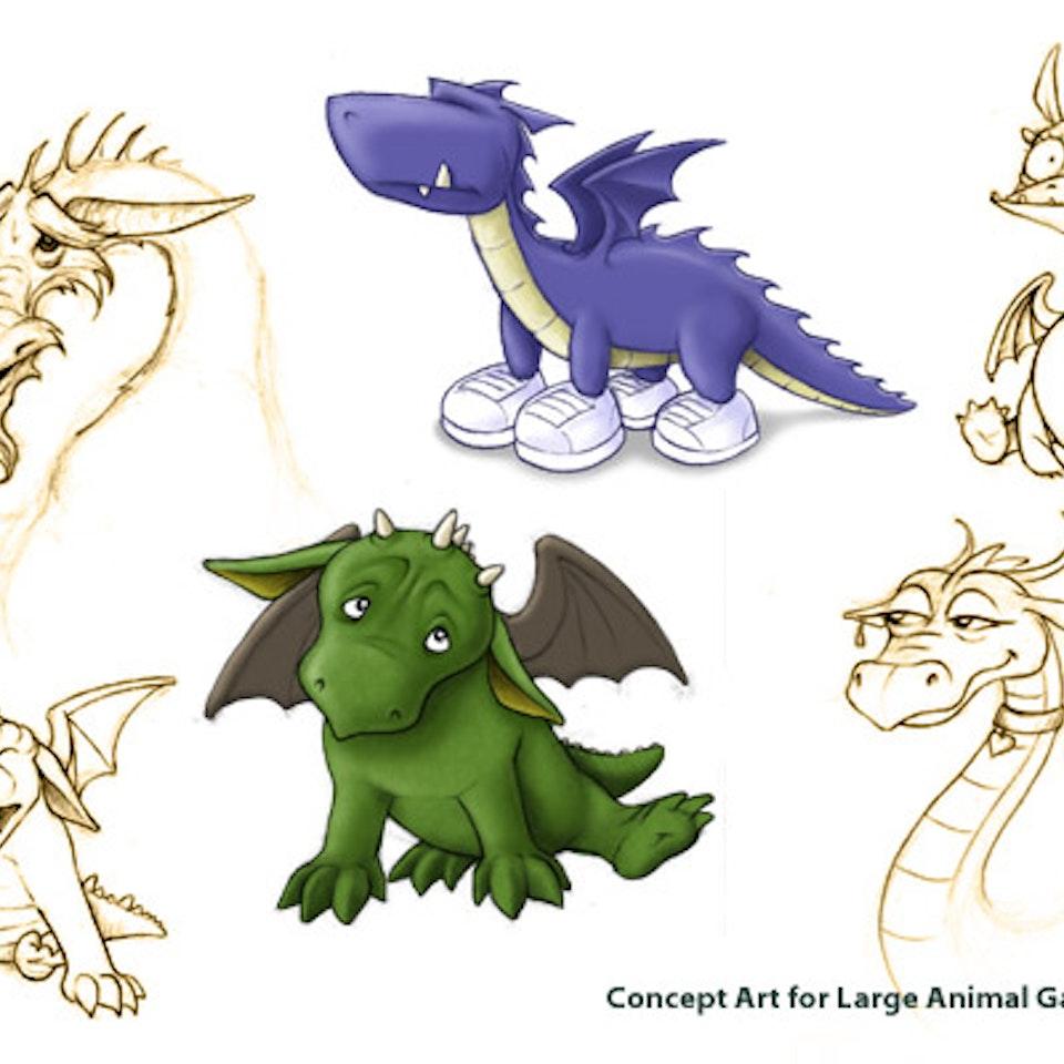 Illustrations DragonConceptArt