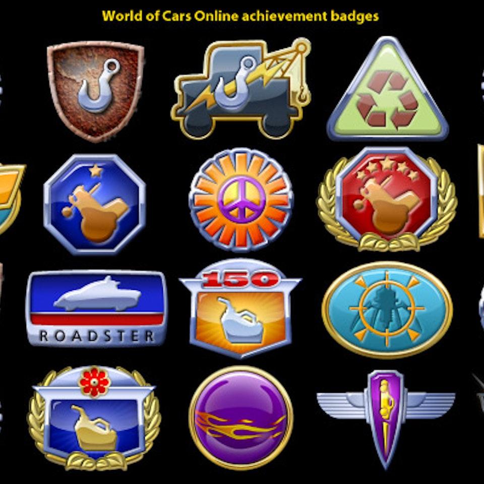 Illustrations - cars_badges