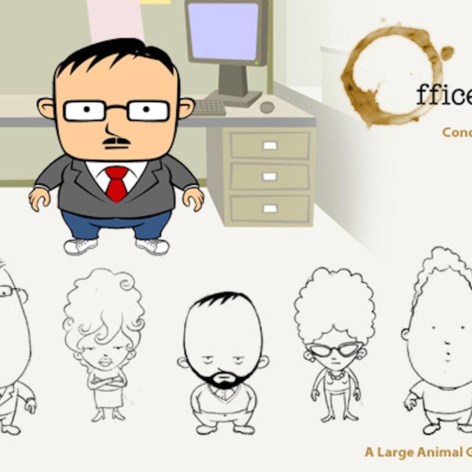 Illustrations OfficeWorldConceptArt