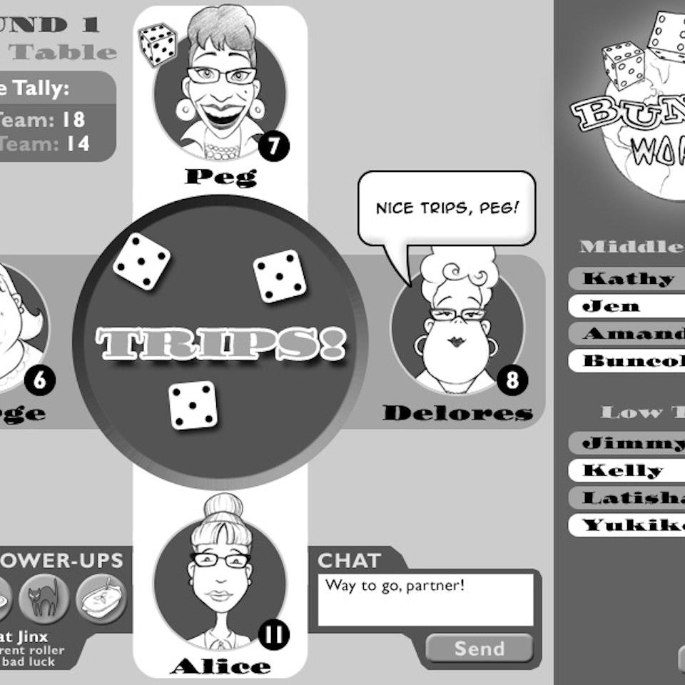 UI and Graphic Design BuncoGameLayout