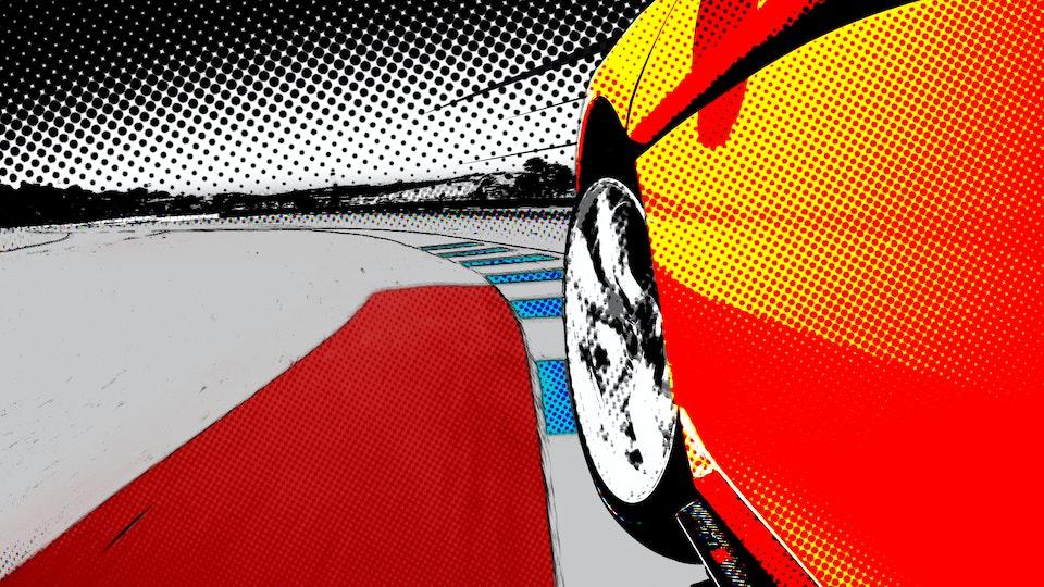 JIRO IETAKA - Behind The Wheel | Intro Animation