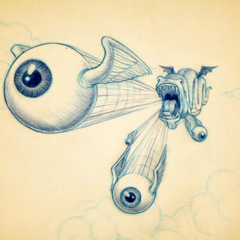 Illustrations - FDC_SwiftMythologicalEyeballCreature
