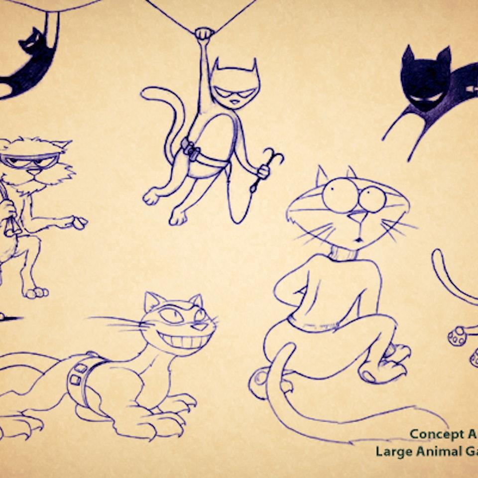 Illustrations - CatBurglars
