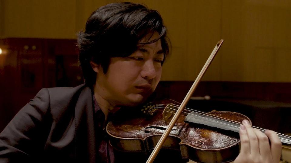 J. Brahms: Scherzo From F.A.E Sonata - Kehan Zhang, violin - Filip Michalak, piano