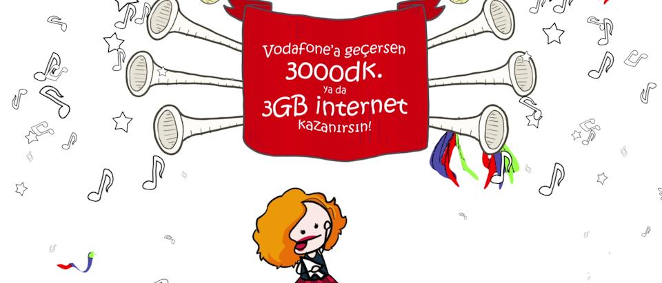 Vodafone - #geciyormuyuz