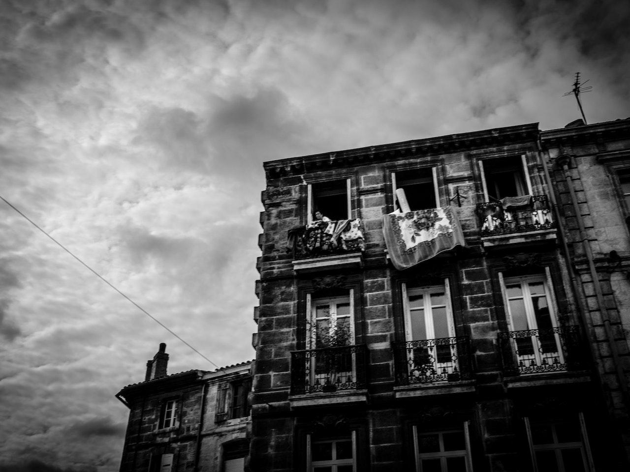 Woman-Balcony