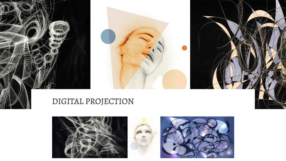 Digital Projection a solo on-line exhibition