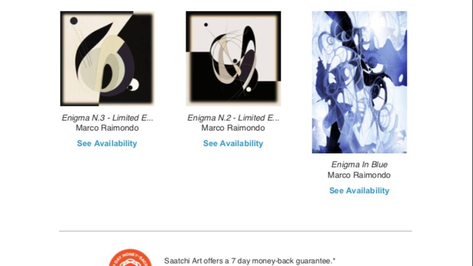 SAATCHI - How to buy Marco Raimondo's Art