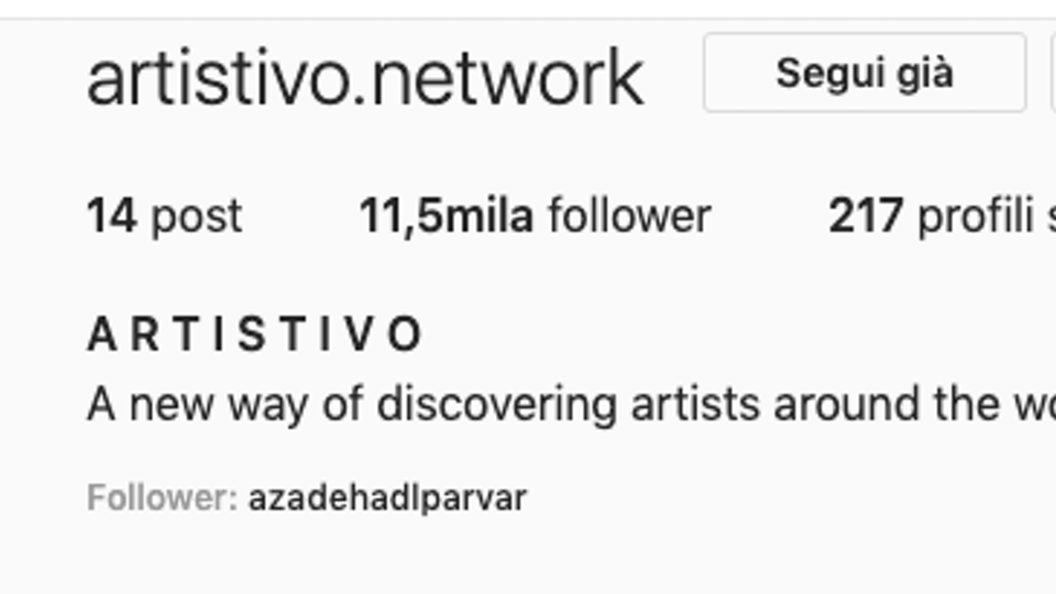 Featured on ARTISTIVO