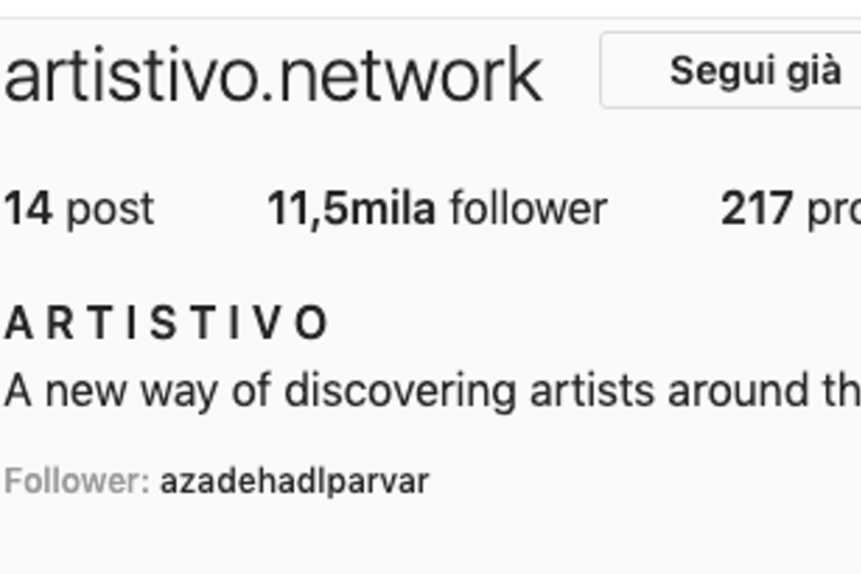 Featured on ARTISTIVO