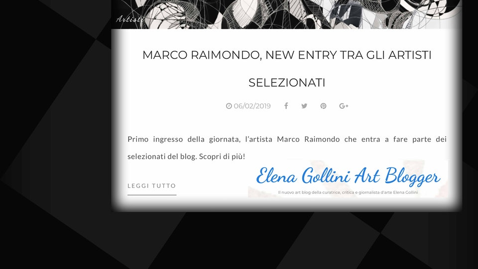 Elena Gollini's Blog ...Talks About me