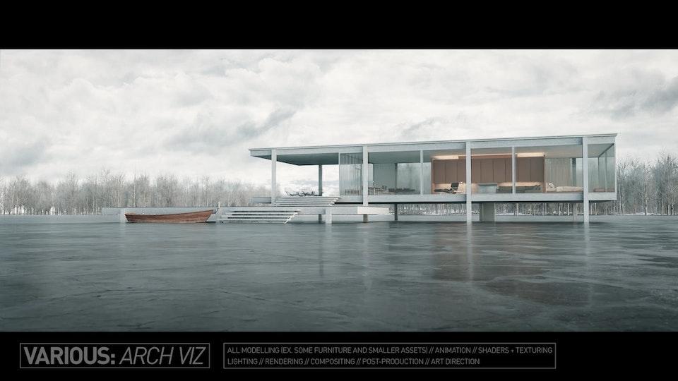 IMS CG Viz Showreel 2020
