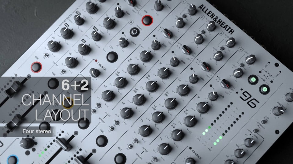 Allen & Heath Xone 96 Launch Video