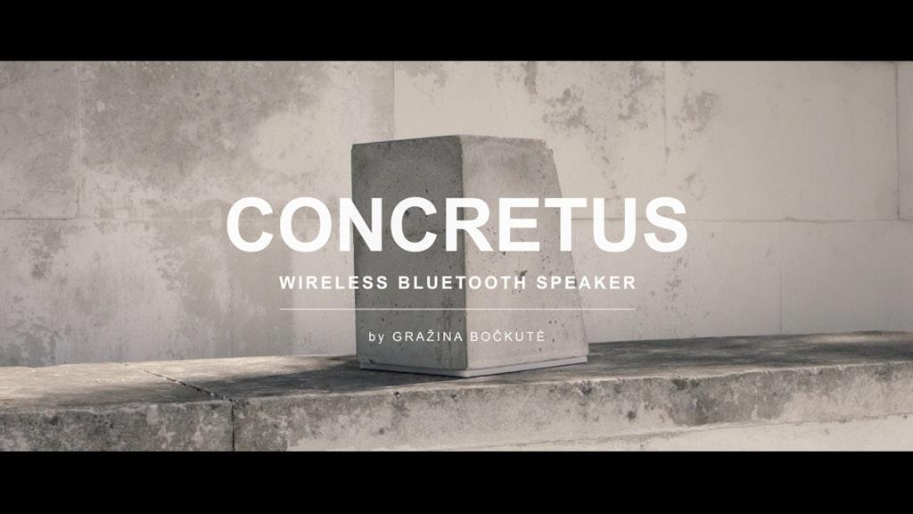 CONCRETUS speaker