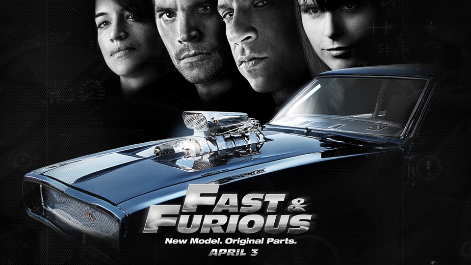 FAST & FURIOUS 4 -