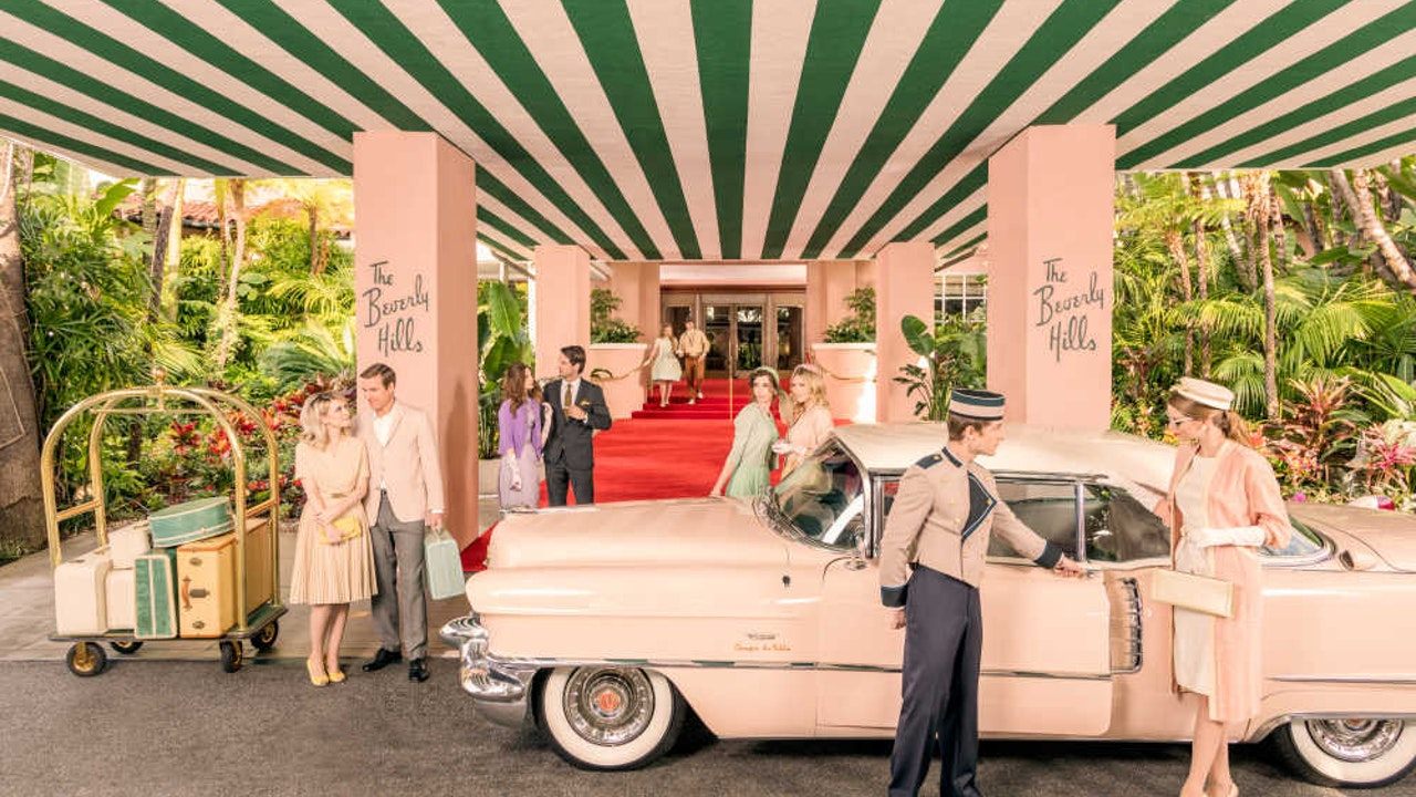 Welcome to the Beverly Hills Hotel -