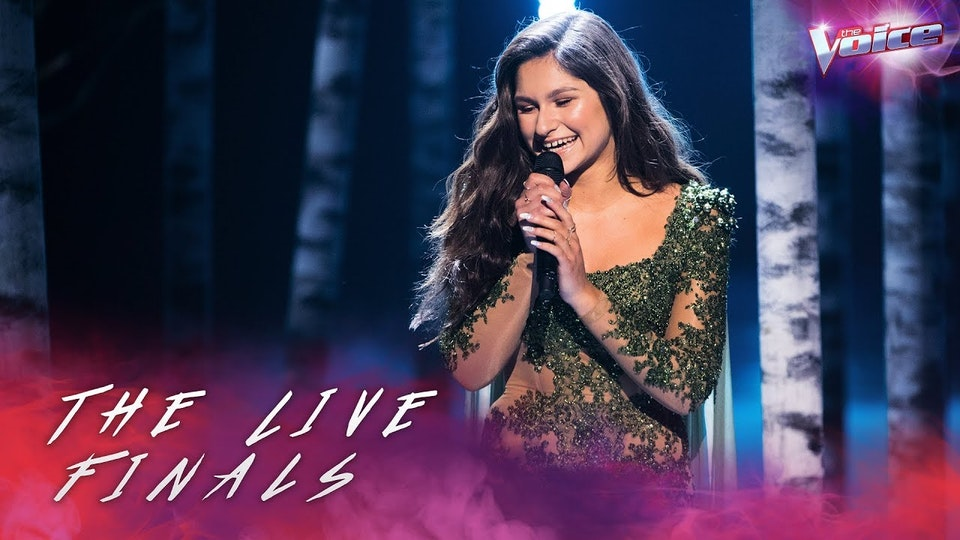 THE VOICE: BELLA, THE LIVE FINALS