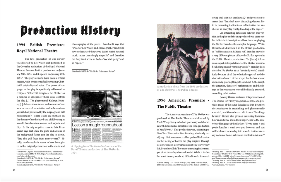 Production History