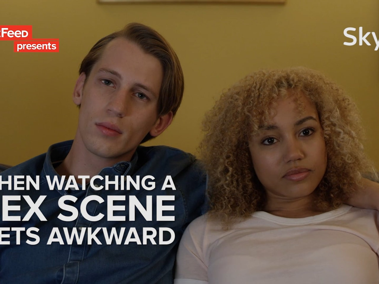 BuzzFeed x Sky Q - When Watching A Film Gets Awkward