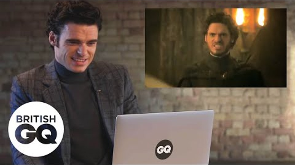 Highlights - Richard Madden relives the Game of Thrones Red Wedding scene, British GQ
