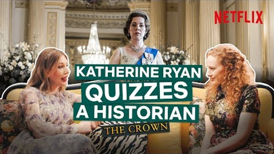 Highlights - Katherine Ryan Quizzes A Historian, Netflix
