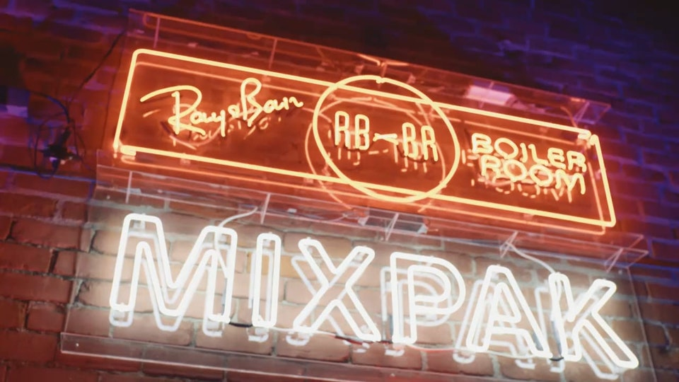 Boiler Room x Mixpak