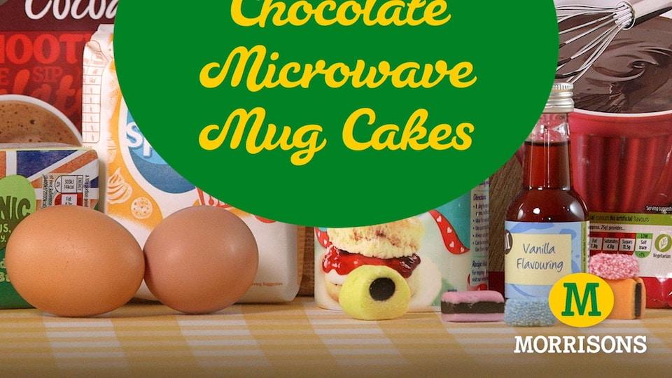 Morrisons - Mug Cakes