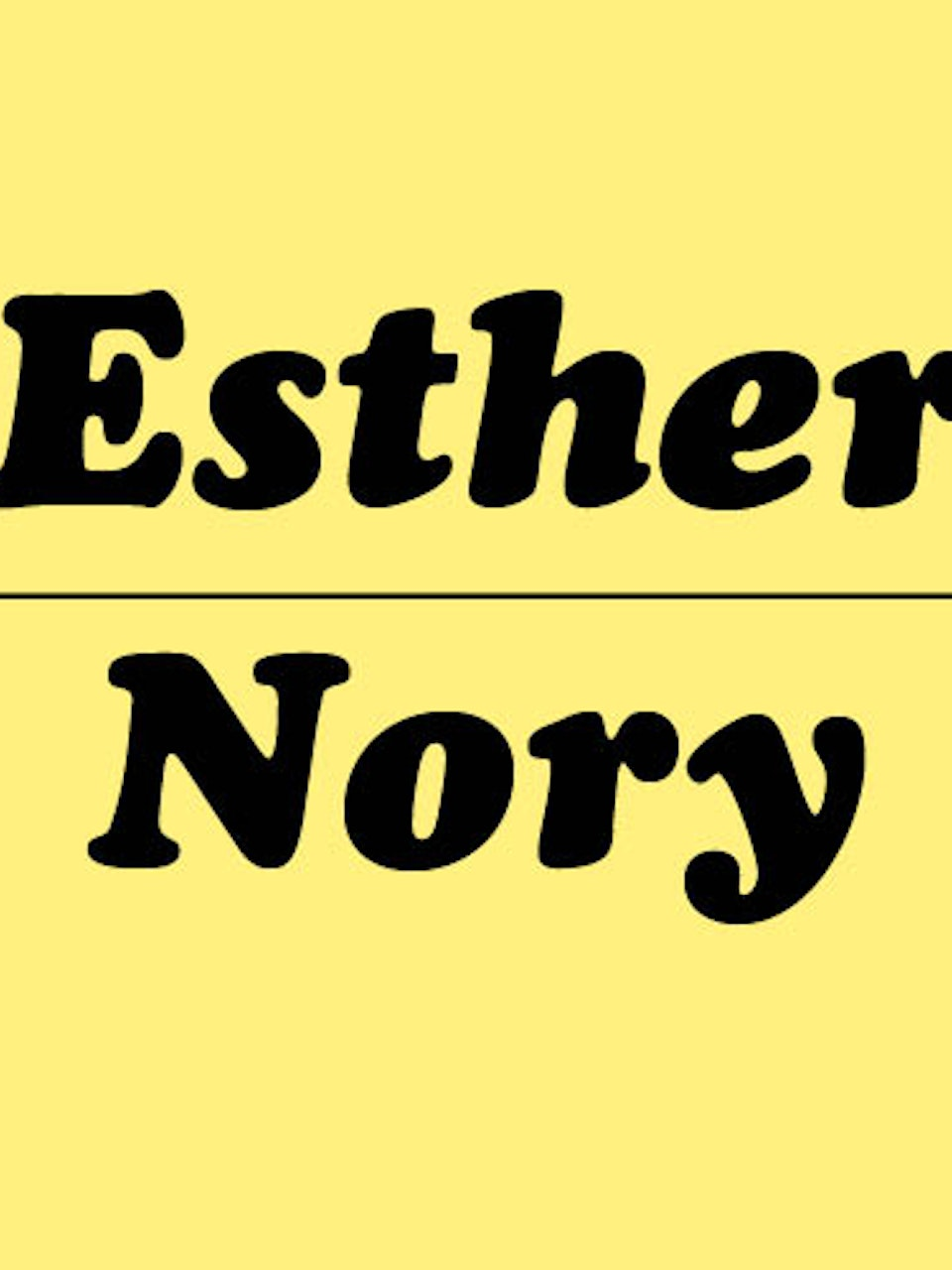 Esther Nory Shop