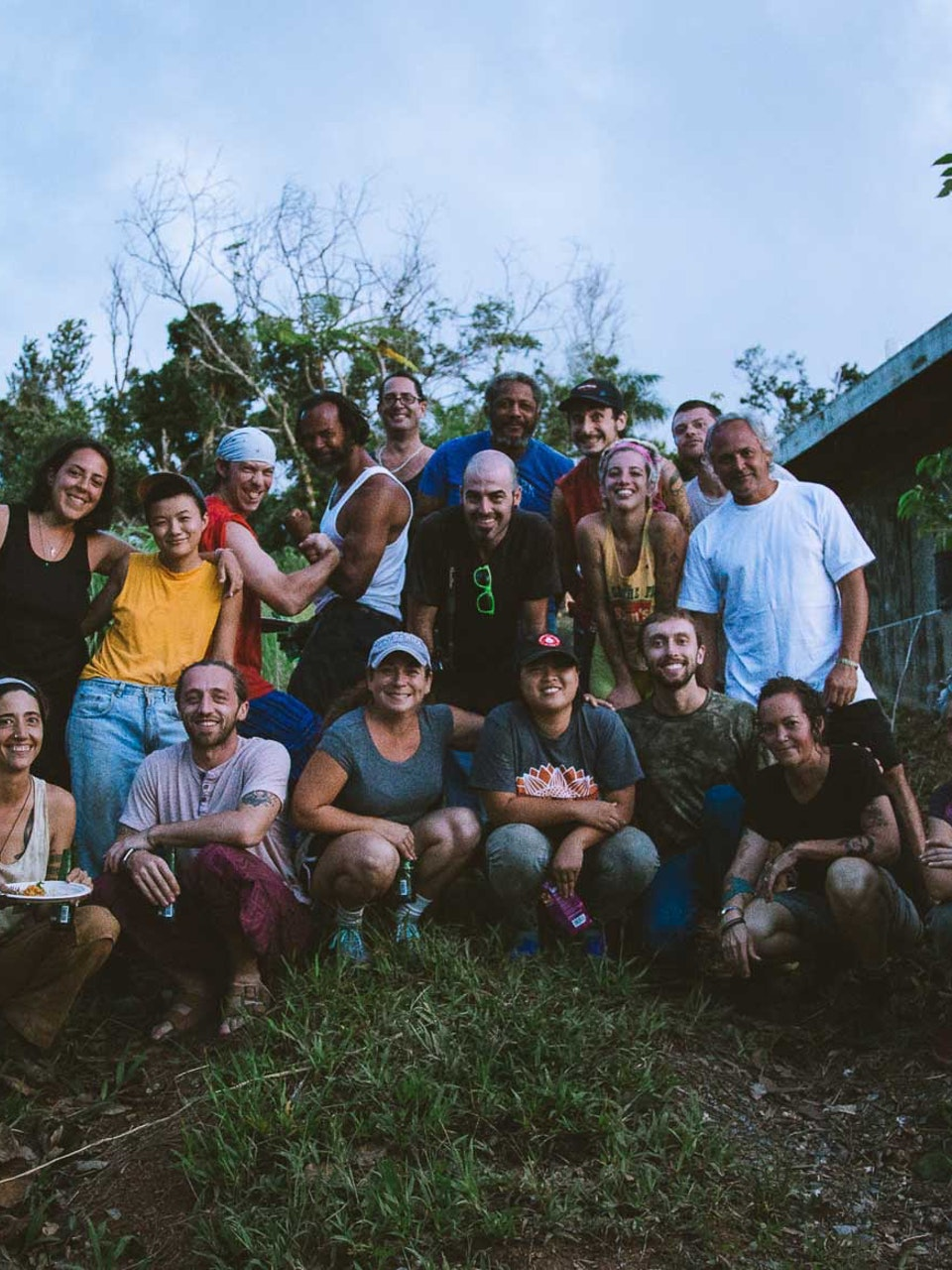 Solidarity Economy St. Louis Brigade for Blue Green Earth School (BGES). Luquillo, PR.