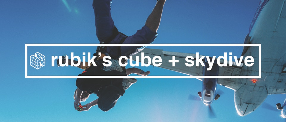 How To Learn Anything S1 Episode 1: Rubik's Cube + Skydiving